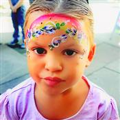 Glitter-Arty Face Painting Photo 3