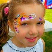 Glitter-Arty Face Painting Photo 2