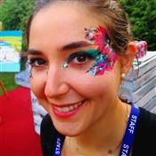 Glitter-Arty Face Painting Photo 8