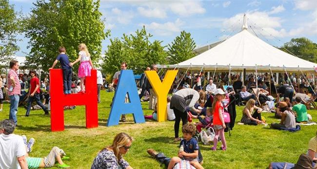 Hay Festival extends partnership with GL Events UK